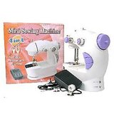 4 In 1 Mini Sewing Machine With Food Pedal & Adapter Of First Quality