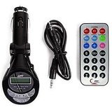 Car 4-in-1 Mp3 Wireless Modulator / FM Transmitter + Remote High Quality