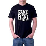 Ask For Fashion Men's Black T-shirt (jxm003)