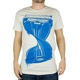 Ask For Fashion Men's White T-shirt (jxm029)