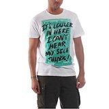 Ask For Fashion Men's White T-shirt (JXM030)