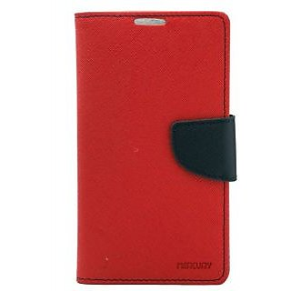 Drs Mercury Samsung Galaxy Note 2 7100 Flip Cover Red available at ShopClues for Rs.264