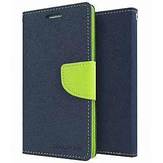 Drs Mercury Samsung Galaxy Note 2 7100 Flip Cover Blue available at ShopClues for Rs.264