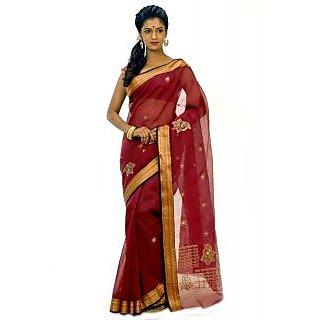 Designer Cotton Saree Dscb0175