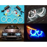 Angel Eyes For All Bikes  Cars  Blue Colour