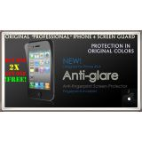 (1+1)2 Pack Front Professional IPhone 4 4S LCD ANTI-GLARE Screen Protector Guard