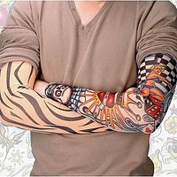 Funky Tattoo Sleeves(Pair) - Permanent tattoo Look Alike -Sunscreen Protect