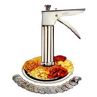 Stainless Steel Kitchen Press With 15 Different Jalies
