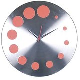 Designer Wall clock in steel designed in Germany limited period offer model 4