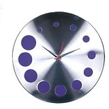 Designer Wall clock in steel designed in Germany limited period offer model 6