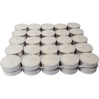 Zanky White T-Light Candle(White, Pack Of 50)