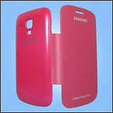 Sale Samsung 7562- DAIRY FLIP CASE COVER FOR SAMSUNG GALAXY S DUOS S7562-PINK COLOR