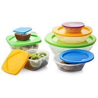 Topware Microwave Safe Set of 7 Containers