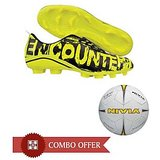 Nivia Encounter Football Stud Combo - Green (Size:UK 6 to 11)