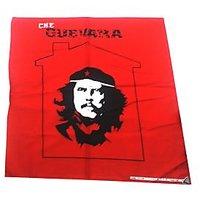 Red And Black Che Design HeadWrap