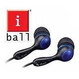 iBall ib 135 Earphone In Ear plug Stereo Headphone ib135