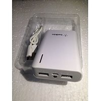 BELKIN POWER BANK 10000 MAH +CABLE IN WHITE 2 PORT