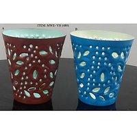 2 Pieces/set Block Decoration Votive Candle Holder For Home Decoration.