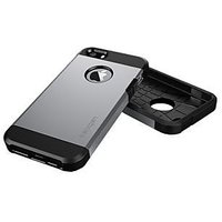 Slim Armor Case For IPhone 4 / 4s Silver Colour.