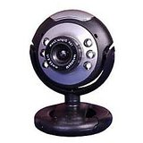 Quantum 25 MP 6 LED Webcam w/Mic Night Vision