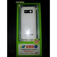 ERD 5200 MAh Portable USB Mobile Charger Power Bank With Warranty. 100% Original