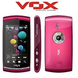 VOX Big Screen Full Touch Music phone with Dual Sim VGS-603