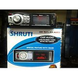 High Quality Branded & Imported Hi Fi USB / MMC Car Stereo MP3 Player With FM & Remote With X-Bass Sound ( Shruti Brand )