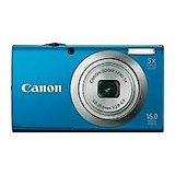 Canon PowerShot A2300 Point & Shoot (Blue)
