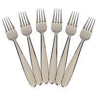 Fork - Table Fork - Hong Kong Table Fork - Stainless Steel - 6PC Set