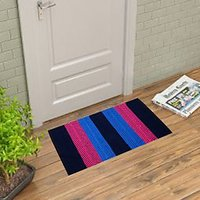 Dream Decor Pack Of 3 Designer Cotton Door Mat - Tiranga03