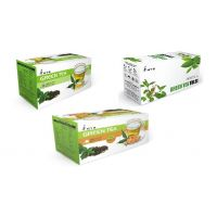 Green Tea, Green Tea Ginger, Green Tea Tulsi- 75 Green Tea Bags/ 3 Boxes
