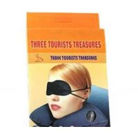 Three Tourist Treasures 3 In 1 Travel Set,with Free Eye Cool Mask