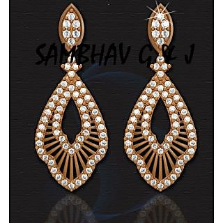Sambhav Women's Earring (Yellow) SER93