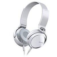 Sony MDR-XB400 On Ear Headphones (White)