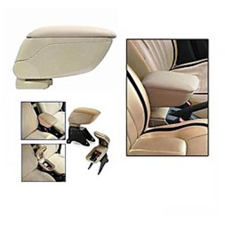 Car Armrest Console Beige Colour Universal Size All Cars