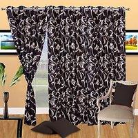 Handloomdaddy Pack Of 3 Designer Door Curtain - 30 Design Option
