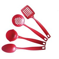 Wondermate 4 Pcs Cook And Serve Spoon Set