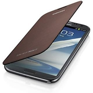 Samsung Galaxy Note 2 Flip Cover available at ShopClues for Rs.180