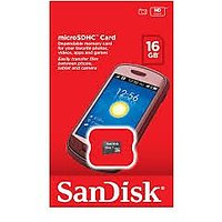 Sandisk Micro SD 16 GB Memory Card