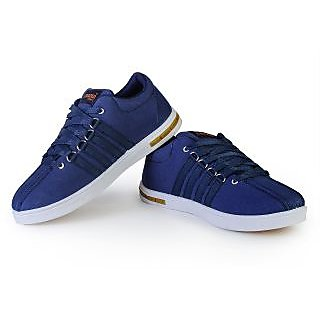 Trendy Sports Men's Shoes By CHAZER_blue