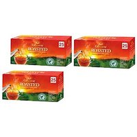 GoodRicke Roasted Darjeeling Tea 25 Tea Bag Pack Of 3 Total 75 Tea Bag
