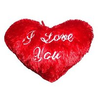 Talking Heart Teddy Musical Soft Teddy Bear Love Valentine Couple Gift Cushion - 72509892