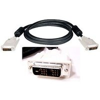 GENUINE DELL DVI D 18+1 PIN SINGLE LINK DVI CABLE 6 FT