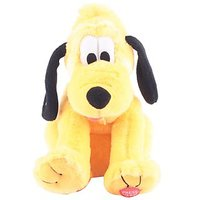 Disney Laughing Pluto Plush Toy 10""