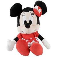 "Minnie Wearing Valentine Dress Plush Toy - 10"""