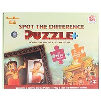 Chhota Bheem Spot The Difference Puzzle