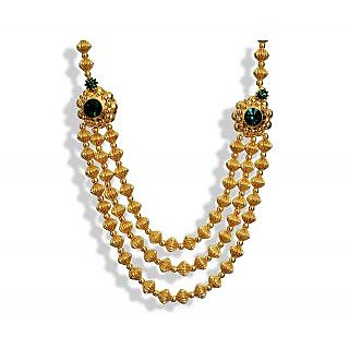 Womens Trendz Jav Mani Triveni Haar Necklace