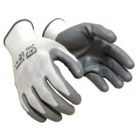 Grey Nitrile Gloves For Garden & Soil Works- 2 Pairs (Garden Tools) NEW Product