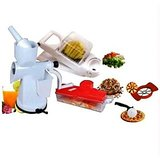 Home Utility Combo Juicer Chopper Cutter Nicer