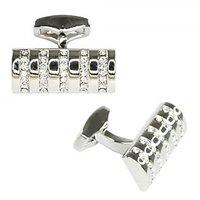 BGS Silver Fashionable Cufflink